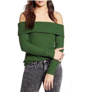 BP. Off the Shoulder Knit Top